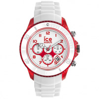 Buy Ice-Watch Ice Chrono Party Bloody Mary White and Red Watch CH.WRD.BB.S.13 online