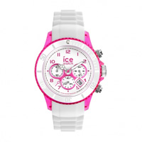 Buy Ice-Watch Ice Chrono Party Cosmopolitan White and Pink Watch CH.WPK.U.S.13 online