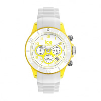 Buy Ice-Watch Ice Chrono Party Margarita White and Yellow Watch CH.WYW.U.S.13 online
