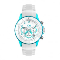 Buy Ice-Watch Ice Chrono Party Blue Lagoon White and Turquoise Watch CH.WTE.U.S.13 online