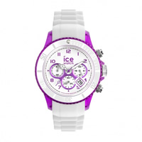 Buy Ice-Watch Ice Chrono Party Purple Passion White and Purple Watch CH.WPE.U.S.13 online