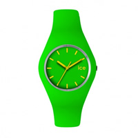 Buy Ice-Watch ICE.GN.U.S.12 Ice Unisex Green Silicone Strap Watch online