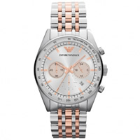Buy Armani Watches Classic Stainless Steel Mens Chronograph Watch AR5999 online