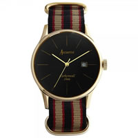 Buy Accurist Watches Multicoloured Gents Vintage Watch MS433B online