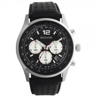Buy Accurist Watches Leather Gents Chronograph Watch MS897B online