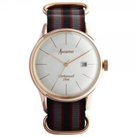 Buy Accurist Watches Multicoloured Gents Vintage Watch MS435S online
