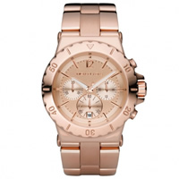 Buy Michael Kors Watches  Ladies Chronograph PVD Rose Gold Watch MK5314 online