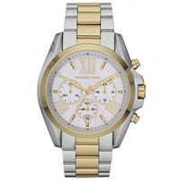 Buy Michael Kors Watches Chronograph Silver & Gold Watch MK5627 online