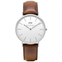 Buy Daniel Wellington 0207DW Classic St Andrews Gents Brown Leather Watch online