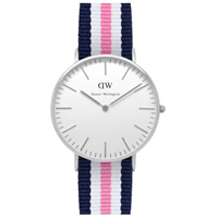 Buy Daniel Wellington 0605DW Classic Nato Southampton Ladies Nylon Watch online