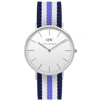 Buy Daniel Wellington 0609DW Classic Nato Trinity Ladies Nylon Watch online