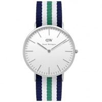 Buy Daniel Wellington 0208DW Classic Nato Nottingham Gents Nylon Watch online