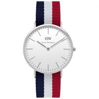 Buy Daniel Wellington 0203DW Classic Nato Cambridge Gents Nylon Watch online