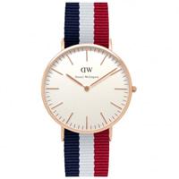 Buy Daniel Wellington 0103DW Classic Nato Cambridge Gents Nylon Watch online