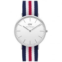Buy Daniel Wellington 0202DW Classic Nato Canterbury Gents Nylon Watch online