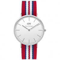 Buy Daniel Wellington 0212DW Classic Nato Exeter Gents Nylon Watch online