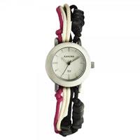 Buy Kahuna Watches Black White & Pink Ladies Watch KLF-0014L1 online
