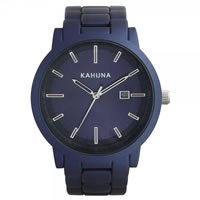 Buy Kahuna Watches Blue steel Gents Watch KGB-0005G online