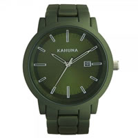Buy Kahuna Watches Green steel Gents Watch KGB-0006G online