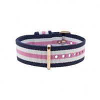 Buy Daniel Wellington 0706DW Nato Southampton Rose Ladies Nylon Strap online