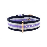 Buy Daniel Wellington 0709DW Nato Trinity Rose Ladies Nylon Strap online