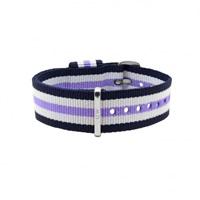 Buy Daniel Wellington 0809DW Nato Trinity Silver Ladies Nylon Strap online