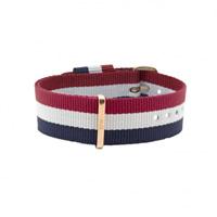 Buy Daniel Wellington 0303DW Nato Cambridge Rose Gents Nylon Strap online