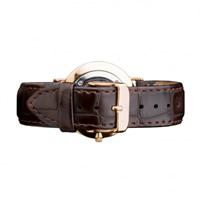 Buy Daniel Wellington 0710DW Classic York Rose Ladies Brown Leather Strap online