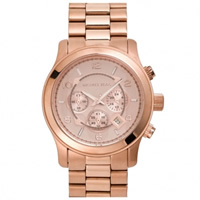 Buy Michael Kors Watches Gents Chronograph Rose Gold Watch MK8096 online
