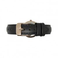 Buy Daniel Wellington 1001DW Classy Sheffield Rose Ladies Black Leather Strap online