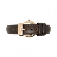 Buy Daniel Wellington 1003DW Classy Bristol Rose Ladies Brown Leather Strap online