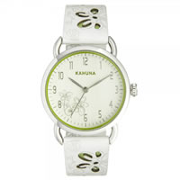 Buy Kahuna Watches White Leather Ladies Watch KLS-0251L online