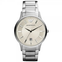 Buy Armani Watches Classic Stainless Steel Mens Watch AR2430 online