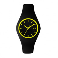 Buy Ice-Watch ICE.CY.YW.U.S.12 Ice Unisex Black & Yellow Silicone Strap Watch online