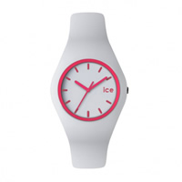 Buy Ice-Watch ICE.CY.CA.U.S.13 Ice Unisex White & Candy Silicone Strap Watch online