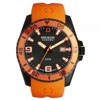 Buy Swiss Military 06-4200-27-007-79 Swiss Ranger Orange Silicone Gents Watch online