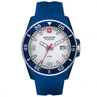 Buy Swiss Military 06-4200-23-001-03 Swiss Ranger Blue Silicone Gents Watch online