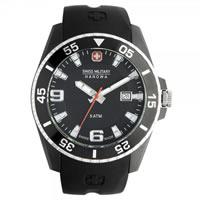 Buy Swiss Military 06-4176-27-007-07 Swiss Ranger Black Silicone Gents Watch online