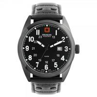 Buy Swiss Military 06-4181-13-007 Swiss Sergeant Genuine Black leather Gents Watch online