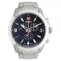 Buy Swiss Military 06-5169-04-007 Predator Chronograph Stainless Steel Gents Watch online