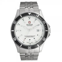 Buy Swiss Military 06-5161-7-04-001-07 Swiss Flagship Stainless steel Gents Watch online