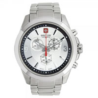 Buy Swiss Military 06-5169-04-001 Predator Chronograph Stainless Steel Gents Watch online