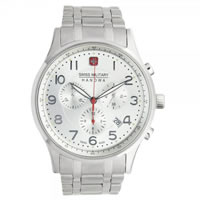 Buy Swiss Military 06-5187-04-001 Patriot Chronograph Stainless Steel Gents Watch online
