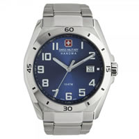 Buy Swiss Military 06-5190-04-003 Swiss Guardian Blue Dial Stainless steel Gents Watch online