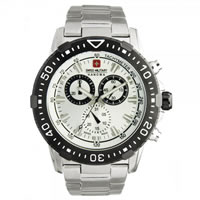 Buy Swiss Military  06-5172-04-001-07 Swiss X-Treme Stainless Steel Gents Watch online