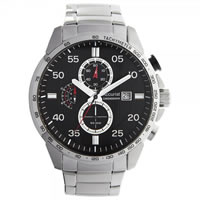 Buy Accurist Watches Silver Gents Chronograph Watch MB1027B online