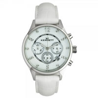 Buy Kennett Watches LWSAVWHSILWH Ladies Savro Silver & White Watch online