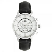 Buy Kennett Watches LWSAVWHSILBK Ladies Savro Silver & Black Watch online