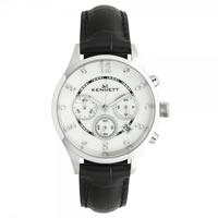 Buy Kennett Watches LWSAVWHSILBK Ladies Savro Silver & Black Watch online