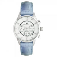 Buy Kennett Watches LWSAVWHSILBL Ladies Savro Silver & Blue Watch online